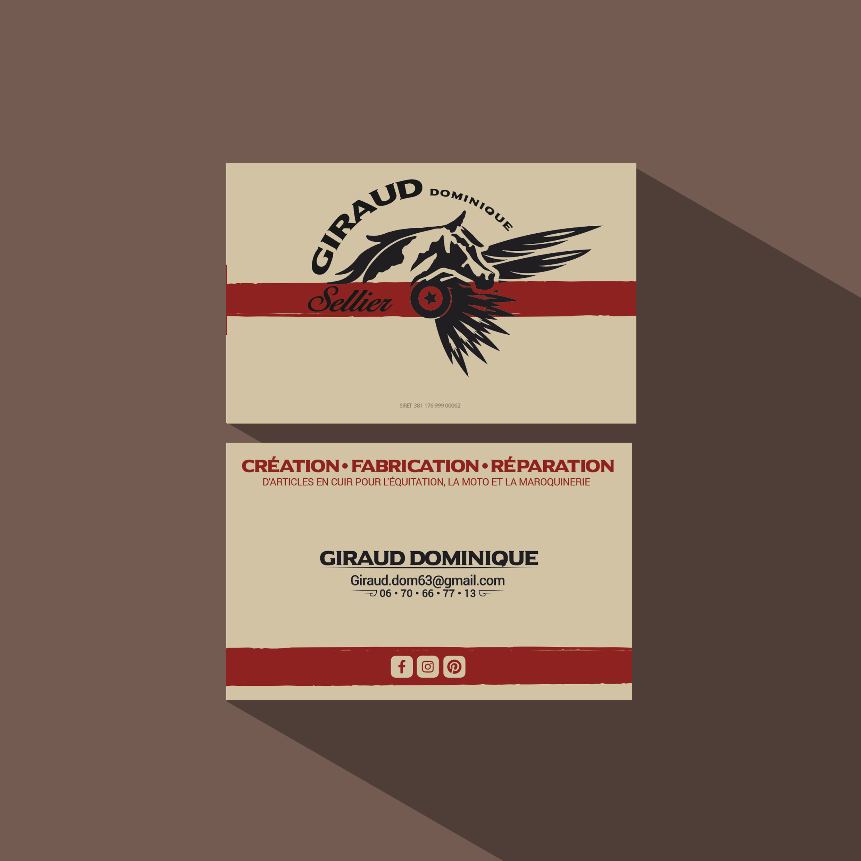 Carte De Visite Dominique Giraud