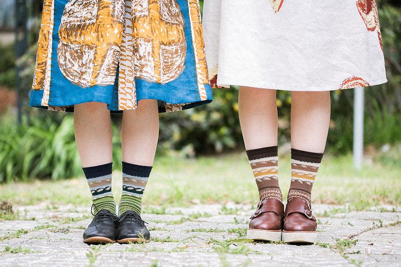 Socks baguette 22~25cm