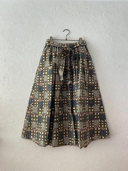 OYATSU by ACOSAKAMOTO / Skirt / Canele gray