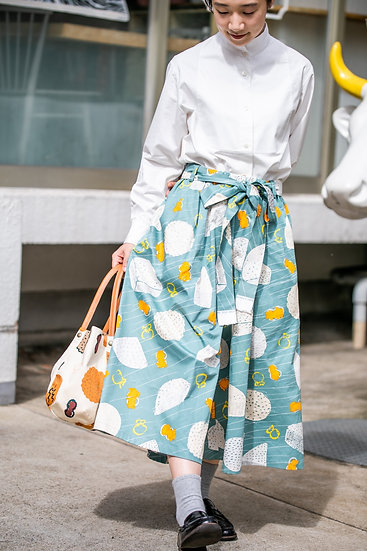 《CHEESE STAND》Culotte pants (cotton100%))