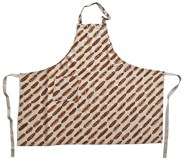 ビーバーバゲットエプロン/Beaver baguett apron (麻レーヨン)