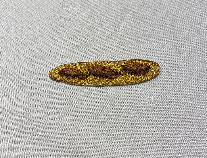 刺繍ワッペンバゲット