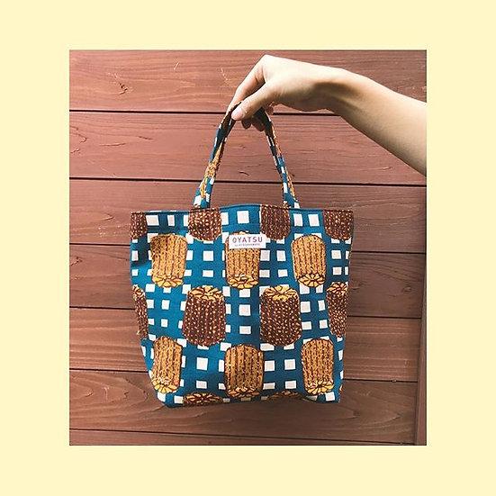 OYATSU by ACOSAKAMOTO Lunch tote bag (reversible) / Canele