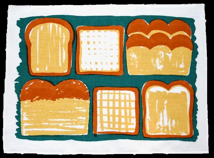 麻キッチンクロス・bread
