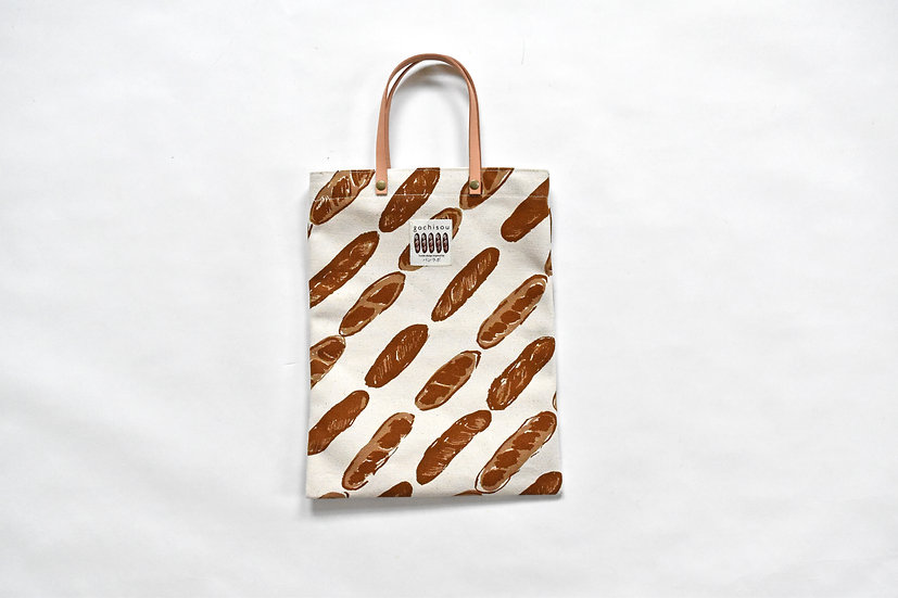 A4 tote bag mini baguette