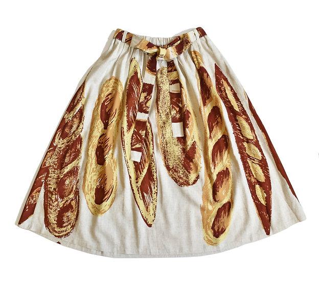 Skirt (麻レーヨン/Baguette)