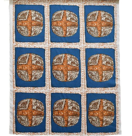 ルヴァンカンパーニュ/blue (麻100%)1リピート47cm毎カット