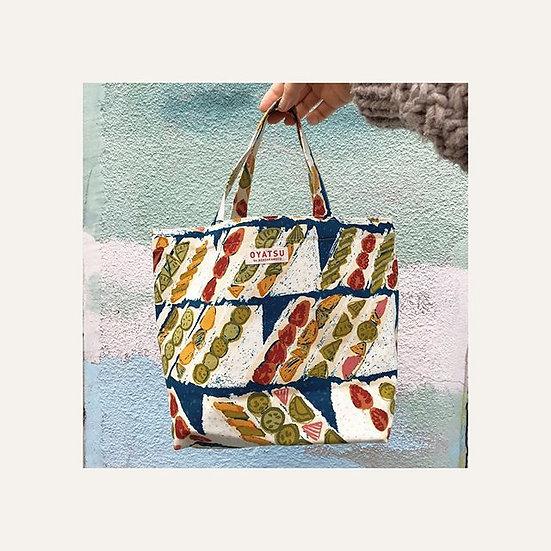 OYATSU by ACOSAKAMOTO Lunch tote bag (reversible)