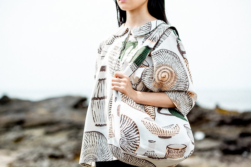 Utsuwa shoulder bag 小鹿田焼
