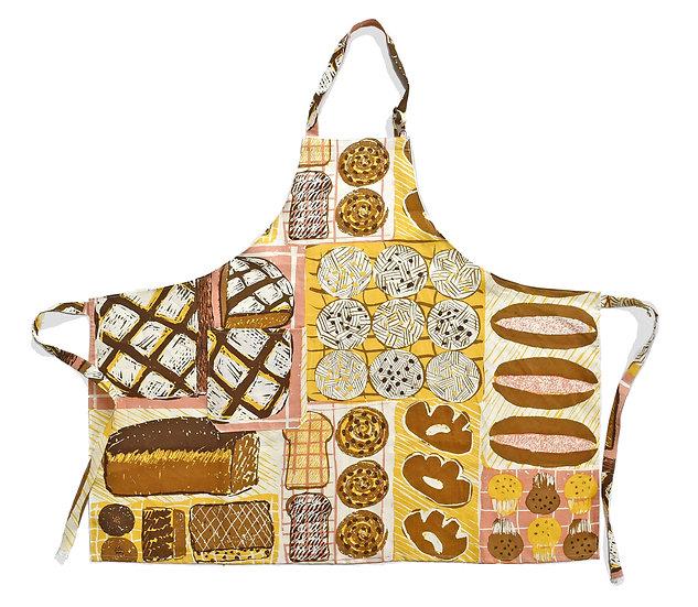 エプロン/Linen apron (麻100%)