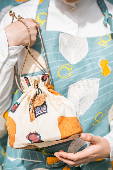《CHEESE STAND》Drawstring bag(巾着)