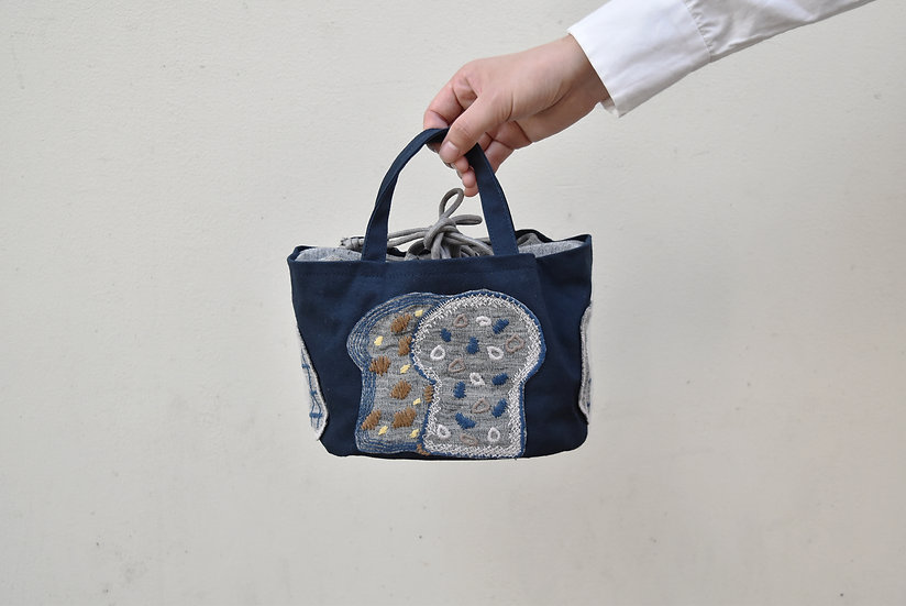 刺繍  Basket bag