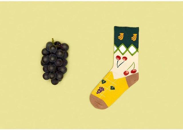 Socks/fruit harvest 22~25cm