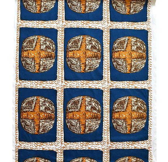 ルヴァンカンパーニュ/blue (綿100%)1リピート47cm毎カット