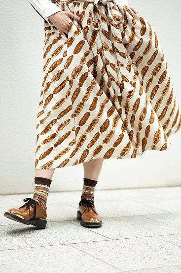 Skirt (麻レーヨン)・Baguette