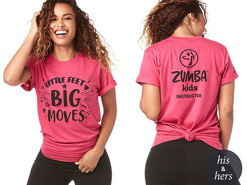 Little Feet Big Moves Kids Instructor Tee
