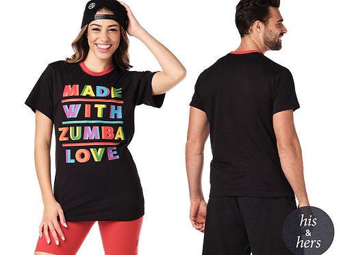 Zumba Made With Zumba Love Tee