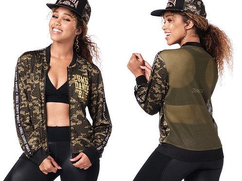 Zumba Mix It Up Mesh Zip-Up Jacket
