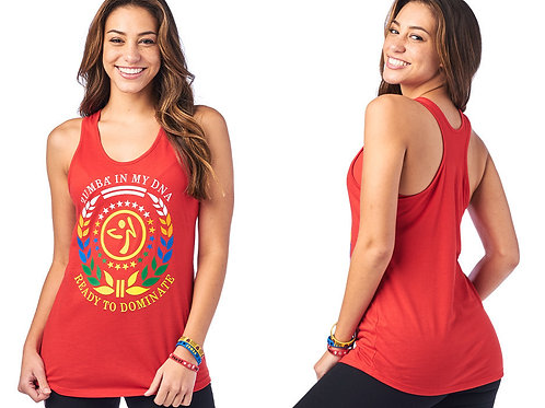 Zumba Is My DNA Tank Top -Rear