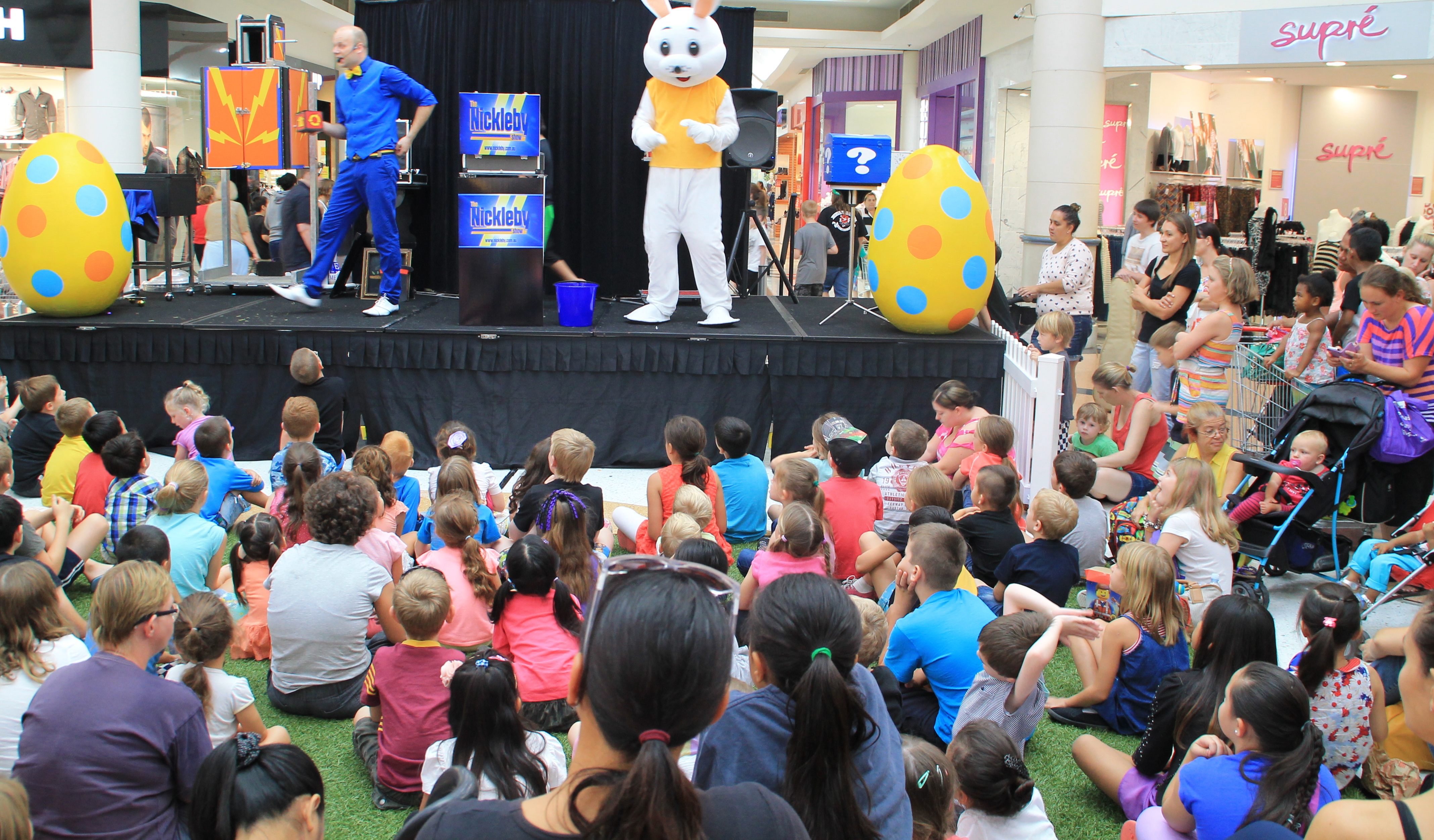 6ft Easter Rabbit Live stage show