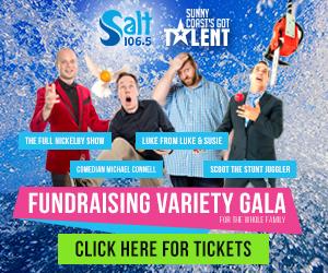 Fundraising variety gala Salt 106.5 Sunshine Coast