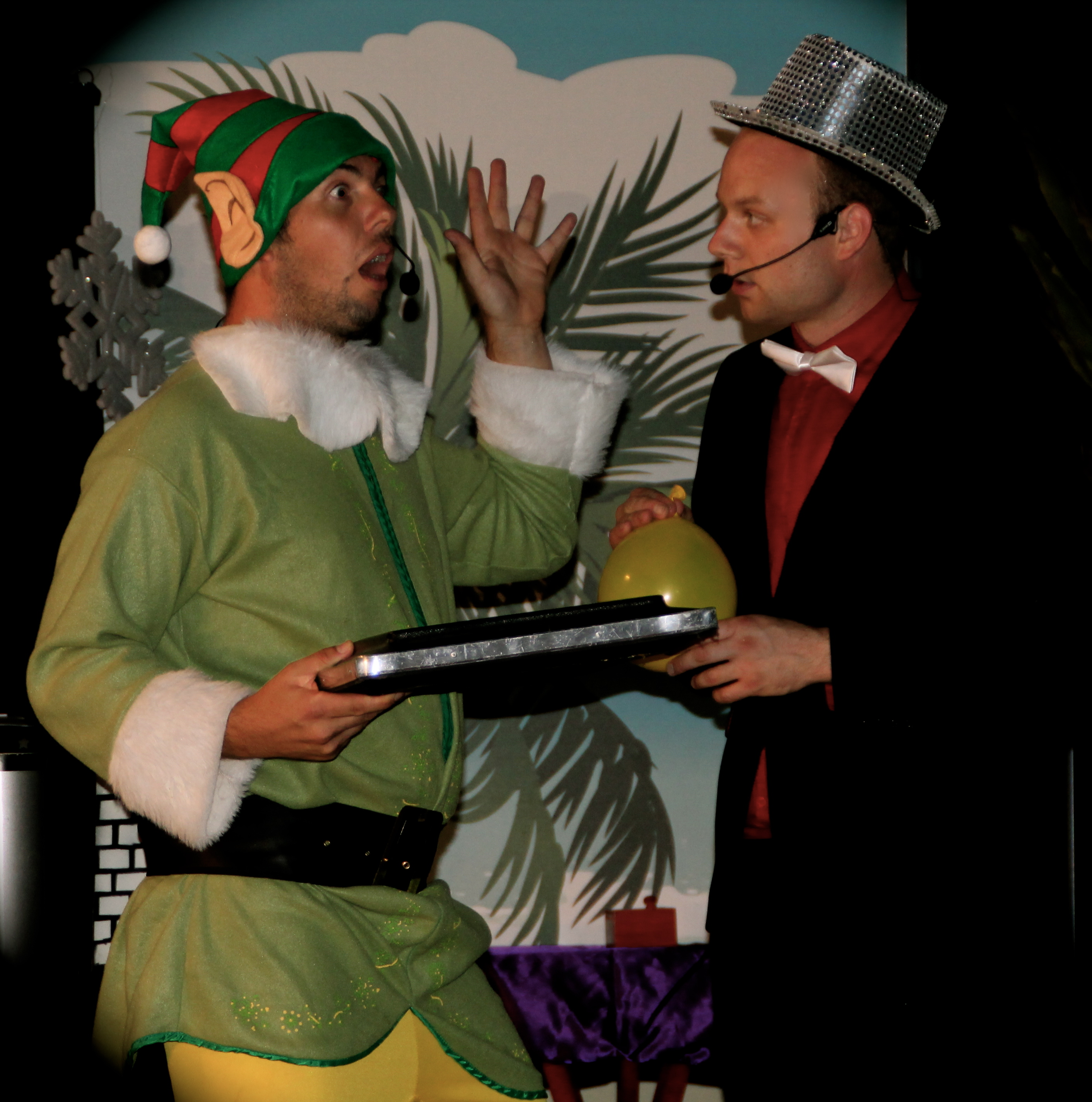 Christmas magic show