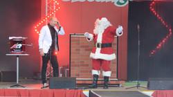 santa christmas magic show