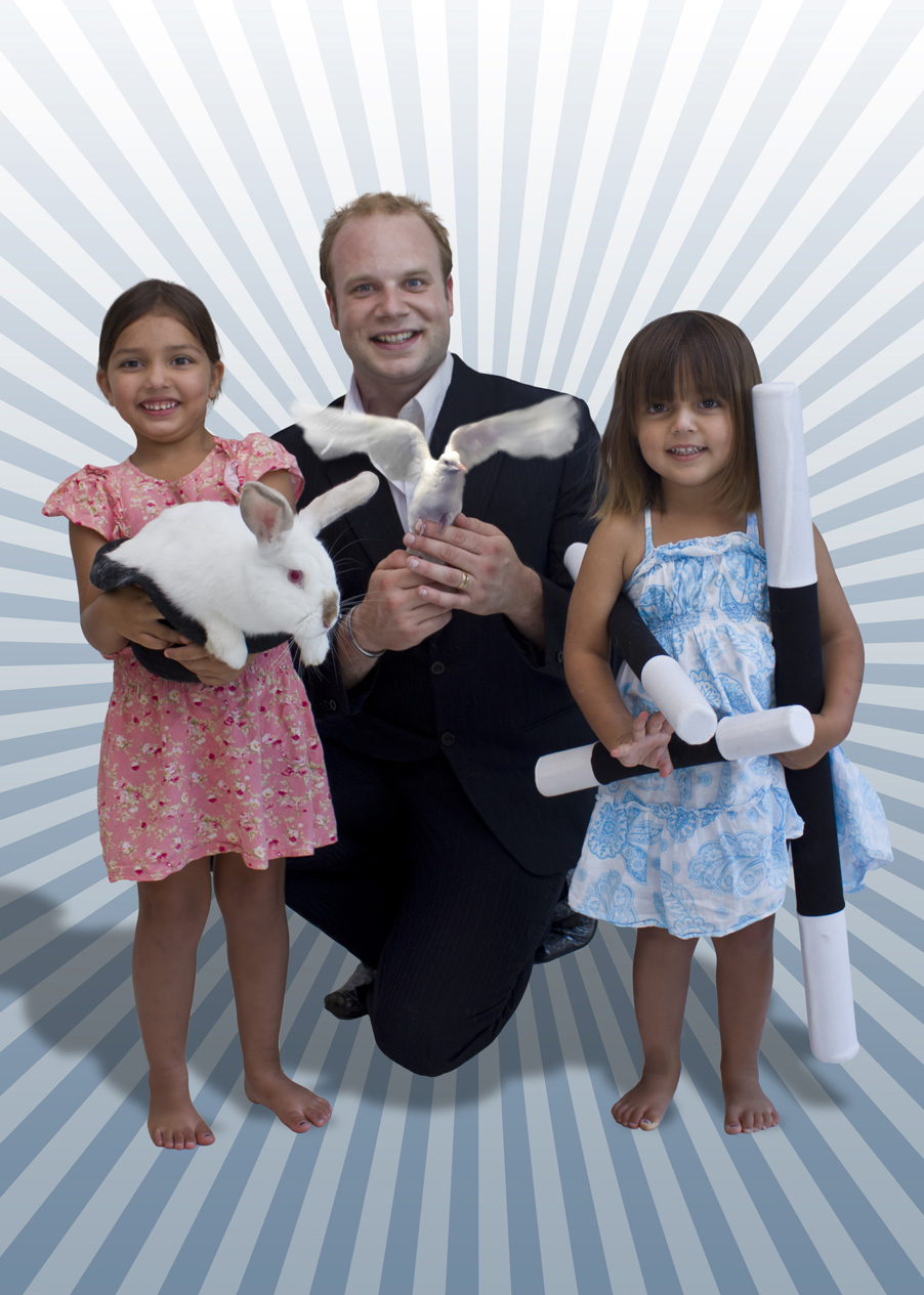 Kids Party Magician Brisbane