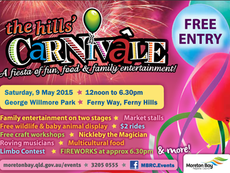 This Saturday in Brisbane: Close up MAGIC at The Hills Carnival come and say Hi from 1pm. Moreton Ba