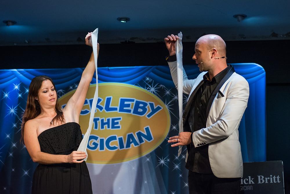 Nickleby magic shows buderim, sunshine coast
