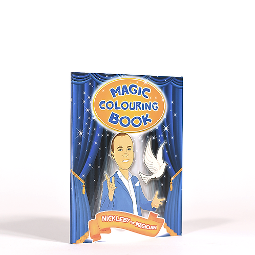 Nickleby's magic colouring book
