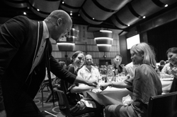 mingle magic at a wedding