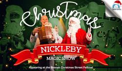 Nickleby magic show Boonah Street Festival