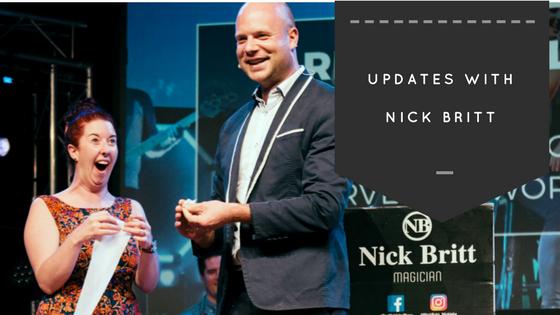 Nick Britt entertainment in Queenstown NZ