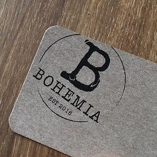 Bohemia restaurant website designed by Signpost Media