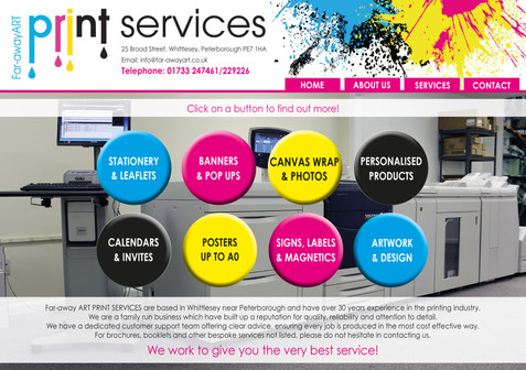 Faraway Art Print Services, Whittlesey