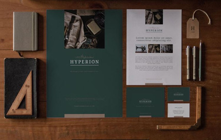 Hyperion Auctions Branding Package
