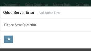 Odoo Error Message and Alert Message