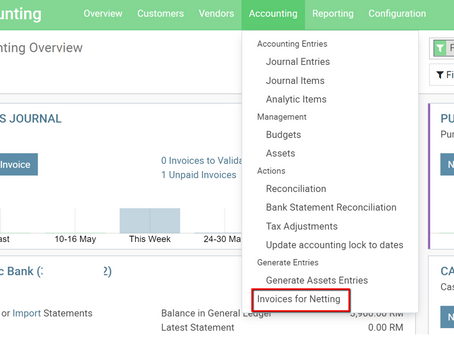 Odoo Account Payment Netting (Contra)