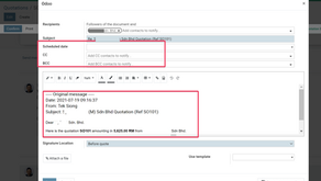 How to Improve Odoo Email function and usability