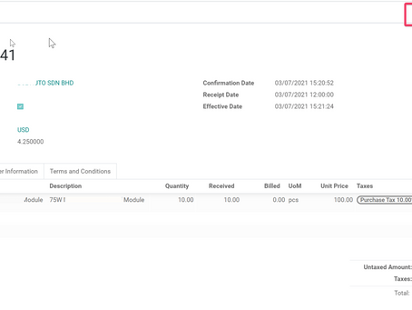 How Purchase Order in Foreign Currency Affecting Inventory Valuation in Odoo