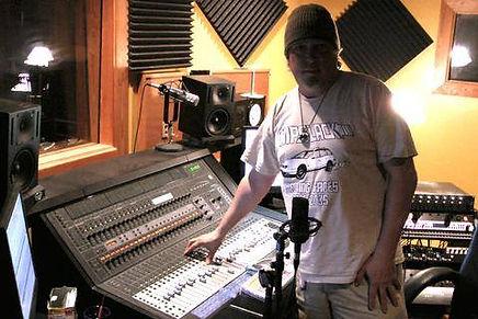 Control Room - Bongo John at Studio 313