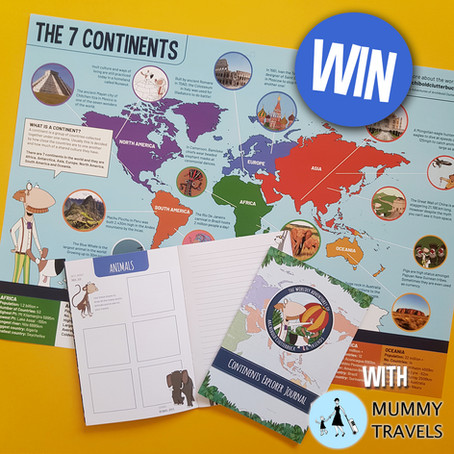 WIN a 7 Continents Poster and Journal