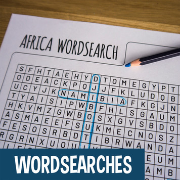 Activities for Kids - Wordsearch