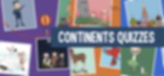 Fun World Quizzes for Kids - World Conti