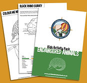 Endangered Animals Activity Pack