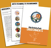 Environments Activity Pack