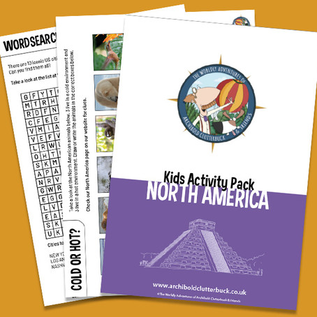 Your FREE North America activity pack