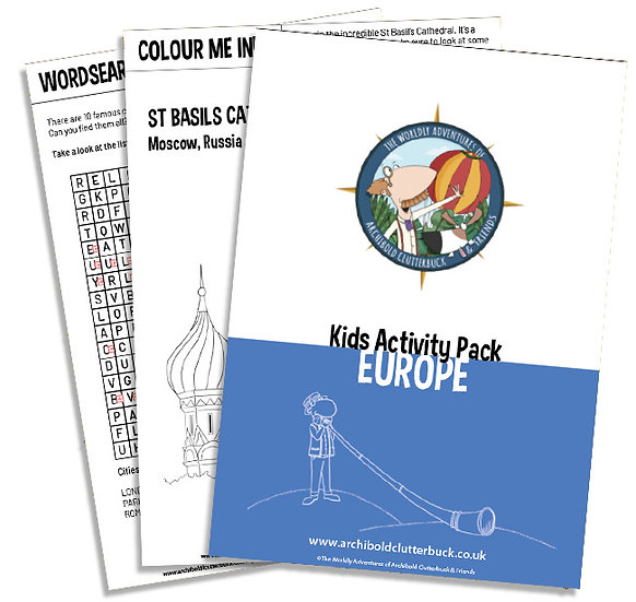 Europe Activity Pack