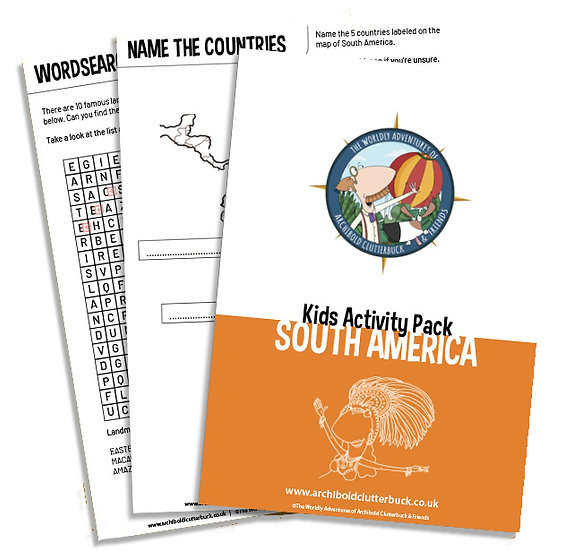 South America Activity Pack